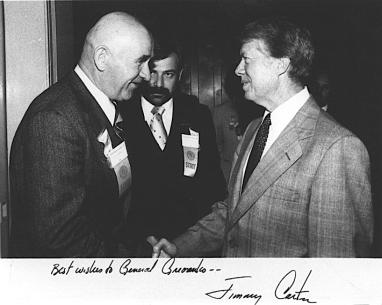 Pyotr Grigorenko and Jimmy Carter. September 20, 1978.