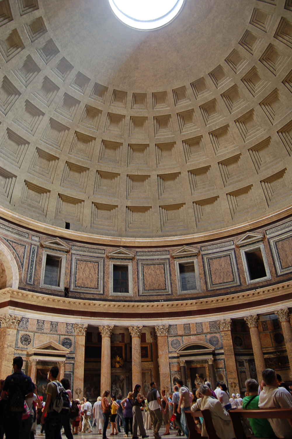 Photo Of The Week Inside The Pantheon Maiden Voyage