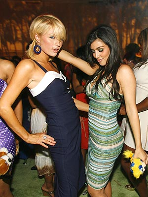 Paris Hilton, left, and Kim Kardashian will both be hosting Ky Derby parties