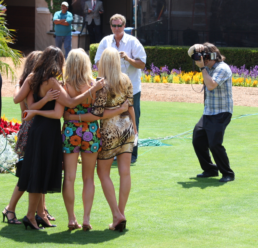 Opening Day at Del Mar was part cocktail party, part fashion show. And, oh yeah, horses were running races too.