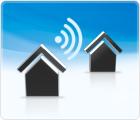Ein DSL-Internet-Telefonie Anschluss für zwei Haushalte/Büros