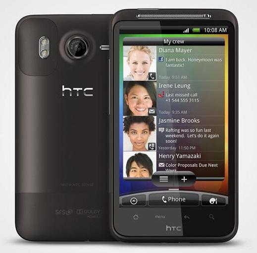 2 gebrauchte HTC Desire HD