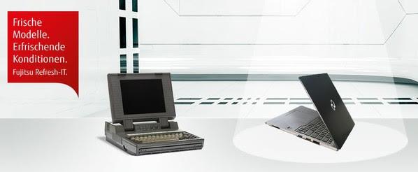 Alt gegen Neu! Vorzugspreise mit Fujitsu Refresh-IT