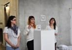 Ephemories team: Priscila, Laura and Clara.