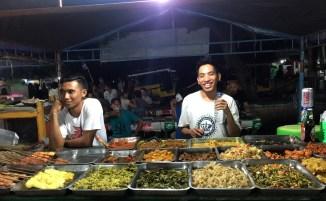 Gili Travangan dove mangiare