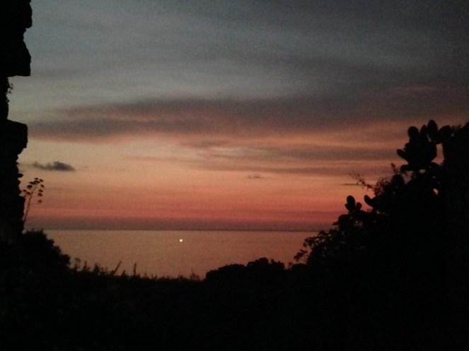 Milazzo tramonto