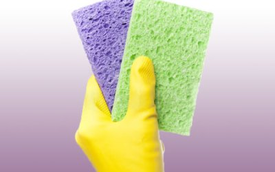 Spiffy Sponges: 6 Home Cleaning Secrets