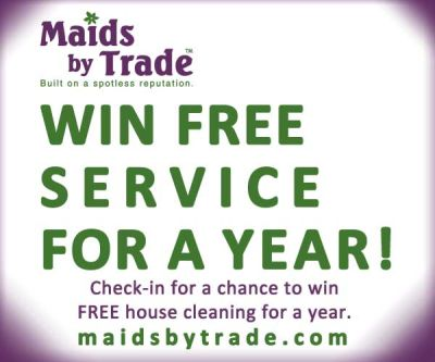 Free House Cleaning for a Year Giveaway