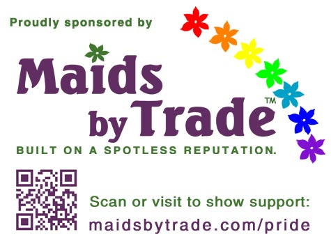 Maids by Trade Supports Gay Pride in Oregon's LGBT Community