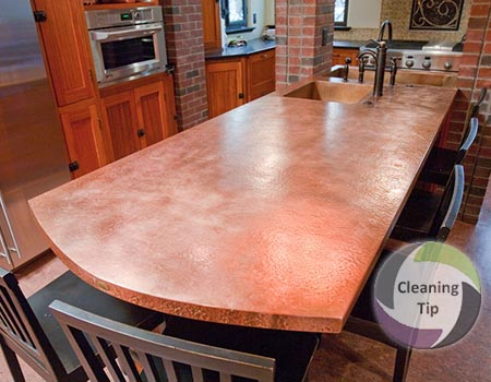 How to Clean Copper Surfaces
