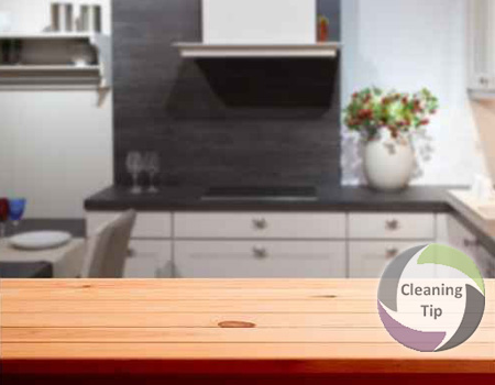 How to Clean Wood Countertops