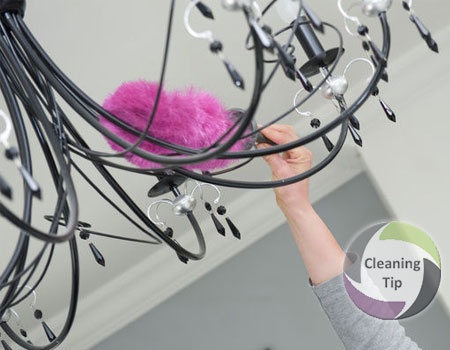 How to Clean a Chandelier. Chandelier Cleaning
