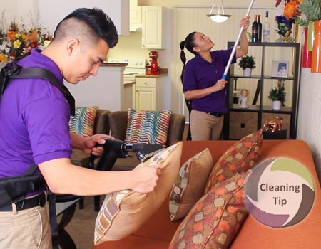 How to Clean a Living Room and shared spaces