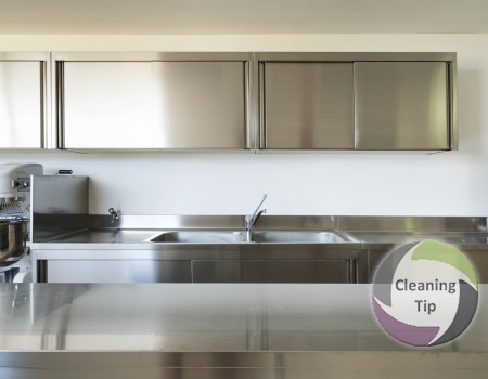 How to Clean a Stainless Steel Countertop