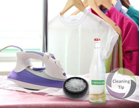 clean iron