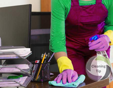 How to get a clean office space