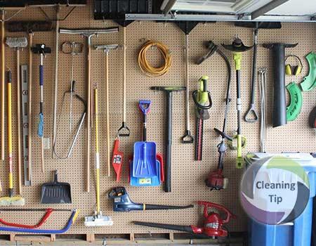 How to Organize a Garage, garage organization