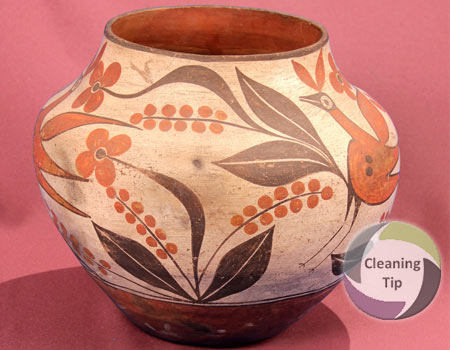 How to Clean Antique Pottery