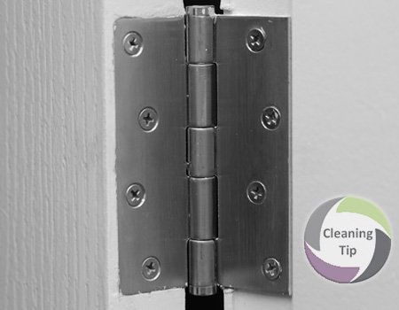 How to Clean Hinges