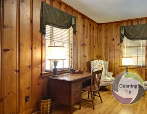 How to Clean Paneling