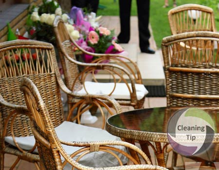 Learn How to Clean Wicker Furniture