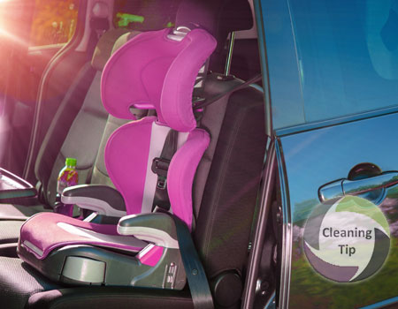 How To Clean A Childs Car Seat