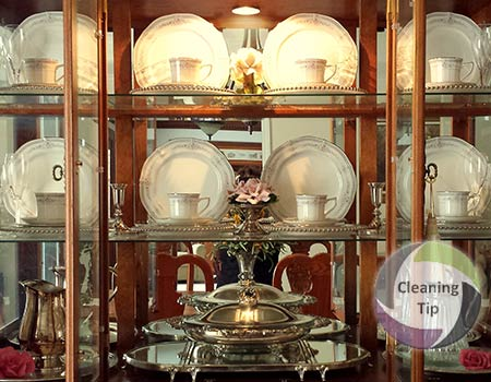 How to Clean a China Cabinet. A cleaning tip from Maids by Trade