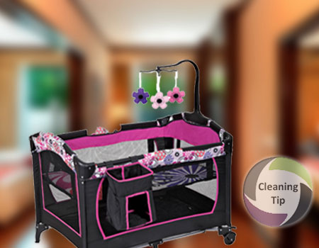 How to Clean a Playpen