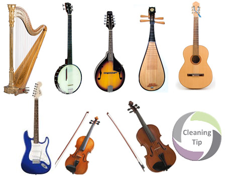 How to Clean String Instruments