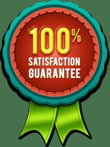 Maids by Trade Satisfaction Guarantee badge