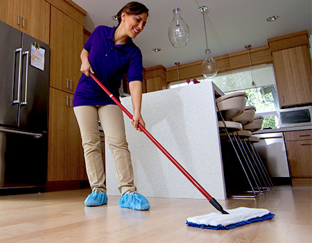 How to Clean the Kitchen Floor after Frying   Maids By Trade