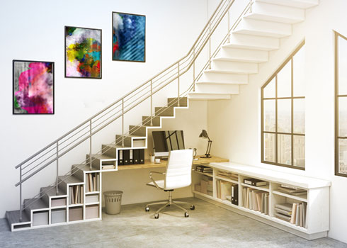 Appealing Ideas for Using the Space Under the Staircase