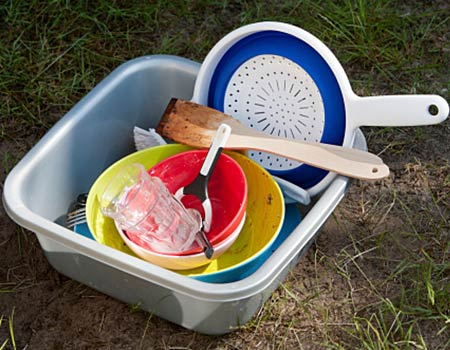 Easiest Dish Washing Techniques for Camping