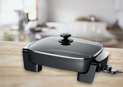 Electric Frying Pan Cleaning in 6 Simple Steps
