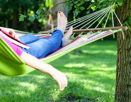 Hammock Day Encourages Relaxation