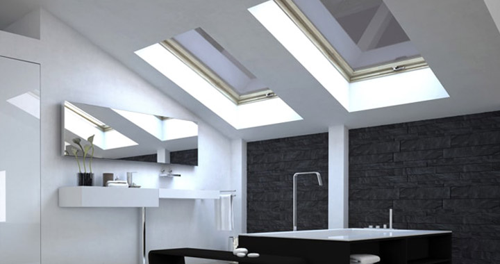How to Clean Hard to Reach Skylights with safety
