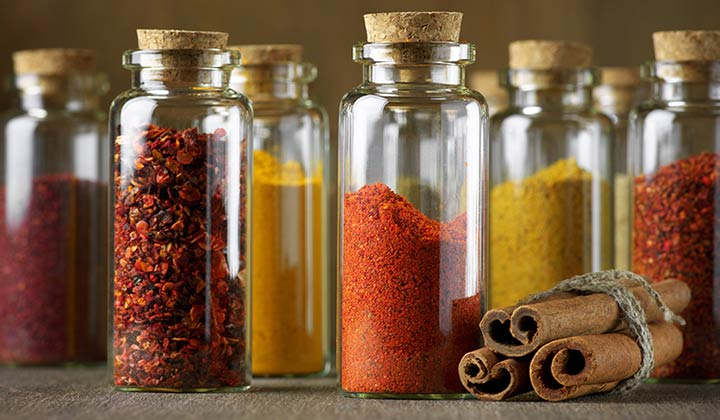 Clean, Organize, and Purge Spice Jars
