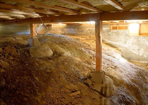 How to Clean a Crawl Space