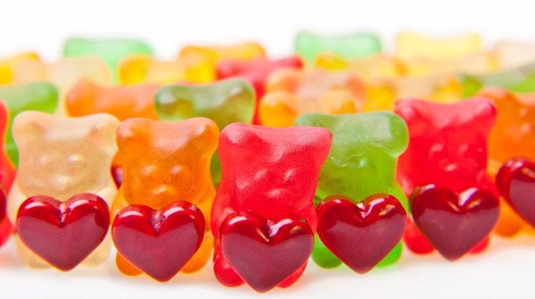 Gummy Bears Love National Gummi Worm Day