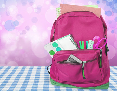 Quick Ways to Organize a Child Backpack