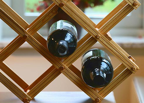 5 Clever Ways to Repurpose a Wine Rack into Storage