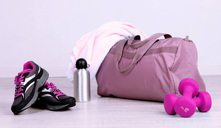 Organizing a Gym Bag tips