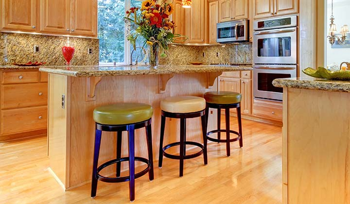 Sit Back and Relax in Clean Bar Stools in your kitchen