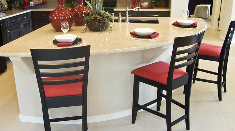 Sit Back and Relax in Clean Bar Stools of upholstery