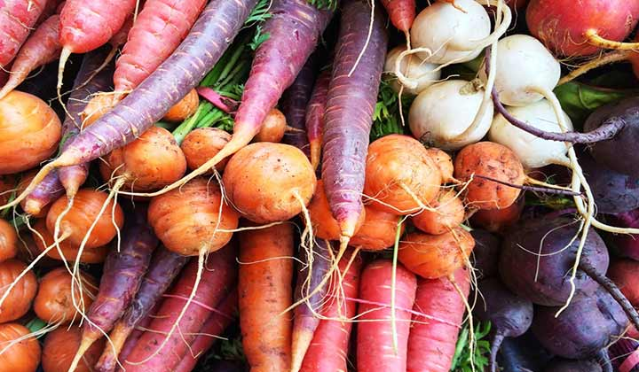 The Best Way to Clean Root Vegetables