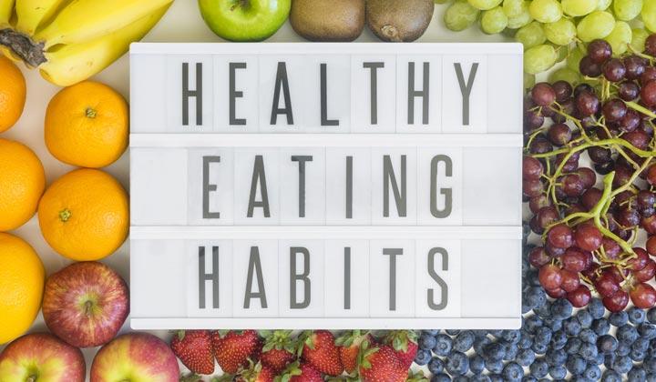 Self Improve Healthy Eating Habits