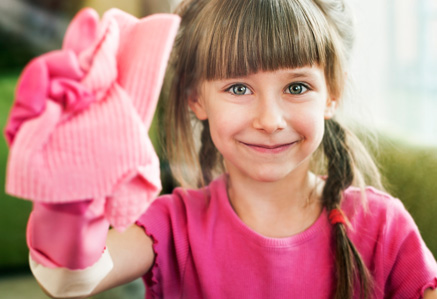 House Cleaning Ideas for Kids — Checklist Included