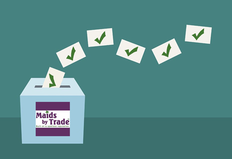 It's Election Day — Vote for Maids by Trade!