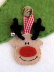 Rentier-Rudolph-Anhänger