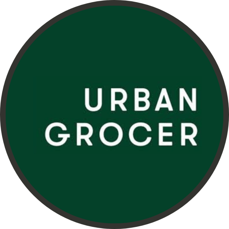 Logo for urban grocer store
